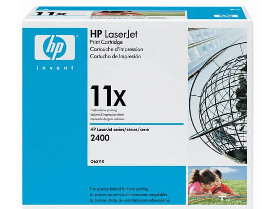 HP 2400 Toner Cartridges Q6511A / Q6511X