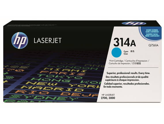 HP 3000 Color Toner Cartridges, Drum, Transfer Kit, Fuser Kit