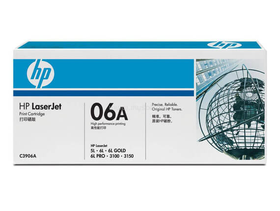 HP 5L, 6L, 3100, 3150 Toner Cartridges