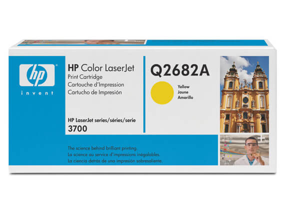 HP  3700 Color Toner Cartridges, Fuser, Transfer Kit