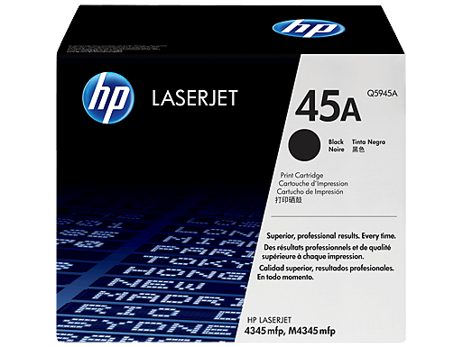HP m4345mfp Multifunction Toner Cartridges High Yield