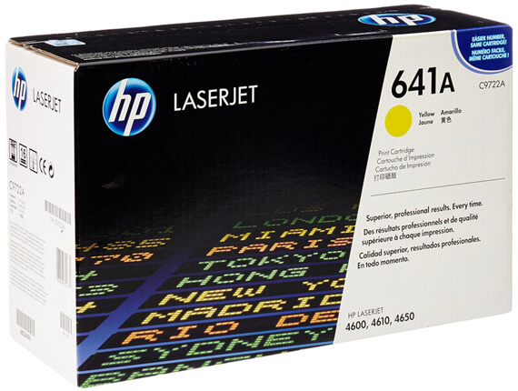 HP 4600/4650 Color Toner Cartridges, Drum, Transfer Kit, Fuser Kit