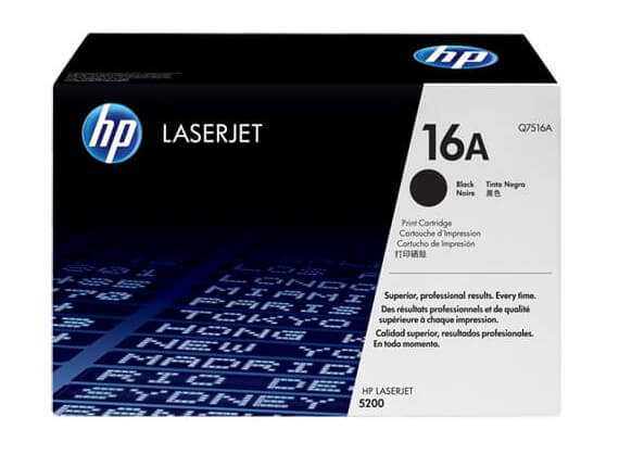 HP 5200 Toner Cartridges High Yield