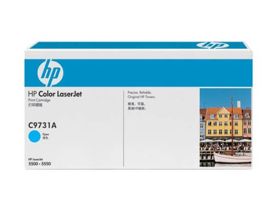 HP 5500 / 5550 Color Toner Cartridges, Supplies, Fuser, Transfer Kit