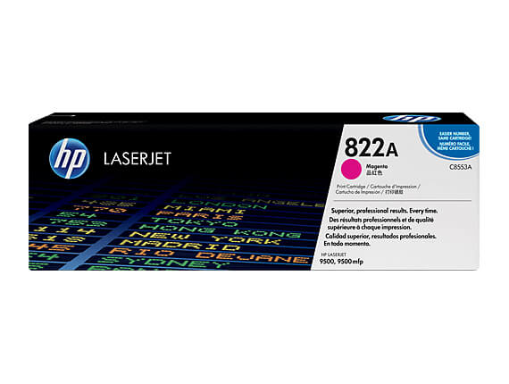 HP 9500mfp Color Multifunction Toner Cartridges, Drum, Transfer Kit, Fuser Kit