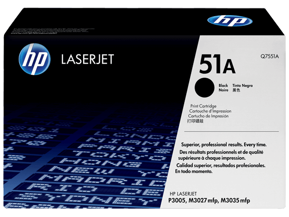 HP p3005 Toner Cartridges High Yield