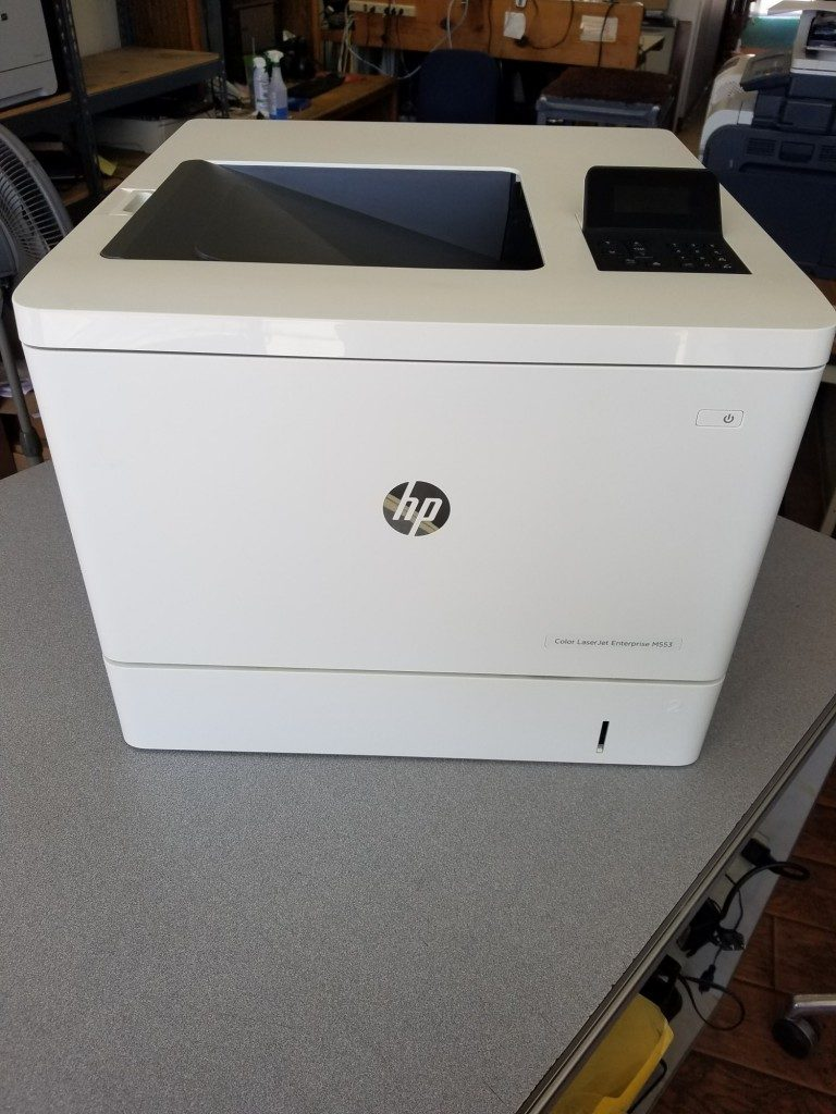 Color LaserJet Enterprise M553