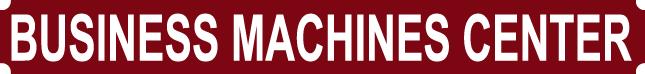 Business Machines Center Logo